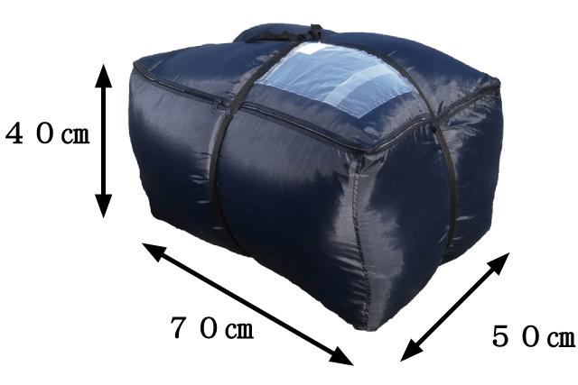 futon bag size